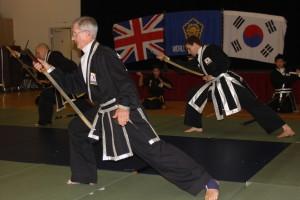 kuk sool won reverse sword